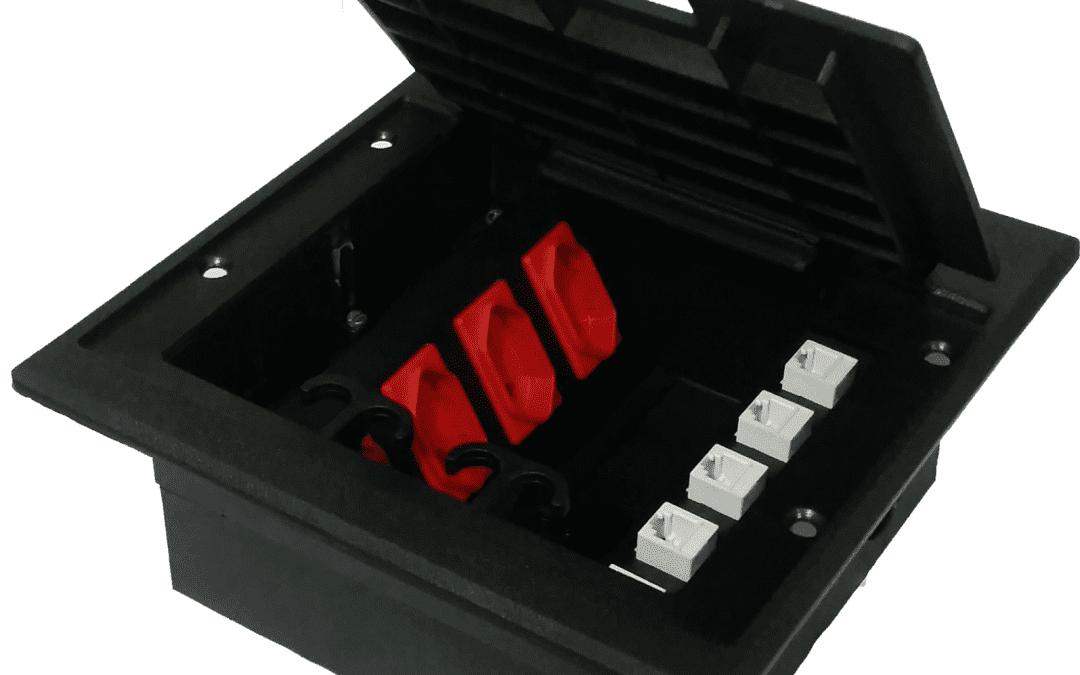 Para que serve uma caixa de tomada de piso?